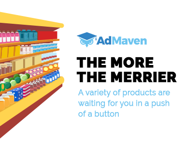 AdMaven products for publishers