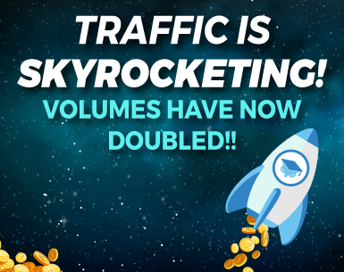 TRAFFIC VOLUMES HAVE DOUBLED – YOUR CHANCE TO INCREASE YOUR CONVERSIONS!