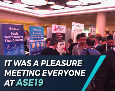 IT WAS A PLEASURE MEETING EVERYONE AT ASE19