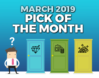 MARCH 2019 HOTTEST TREND FOR PUBLISHERS