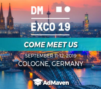 ADMAVEN IS COMING TO DMEXCO2019