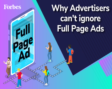 why advertisers must use full page ads by admaven