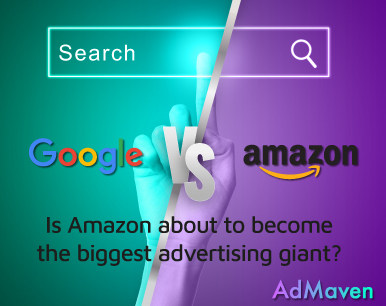 AdMaven Insights: Can Amazon Surpass Google's Advertising Power?