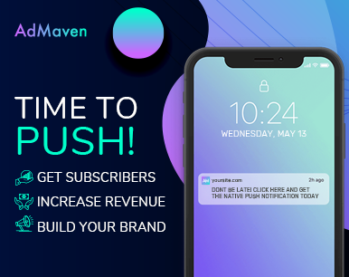 admaven time to push