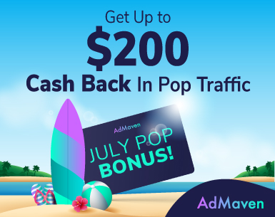 AdMaven's Summer Bonus Time!