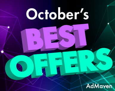 October's HOT VERTICALS / New offers – More profit!