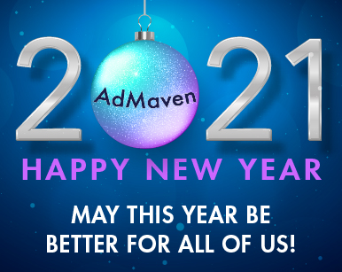 admaven Happy new year 2021