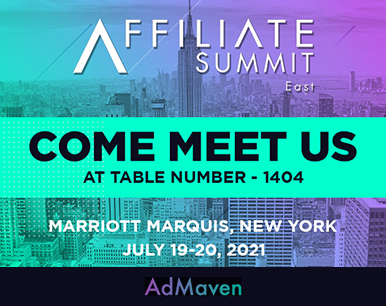 Affiliate Summit East2021: New York are you ready?  AdMaven are coming!